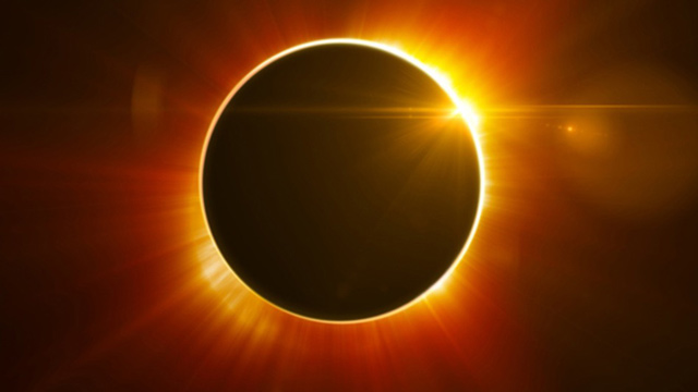 What happens to solar power generators during the eclipse?